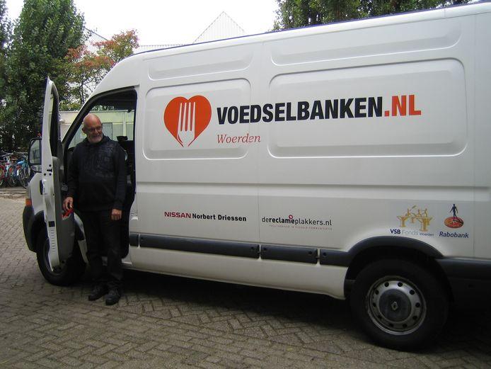 De voedselbank in Woerden heeft een koelbus.