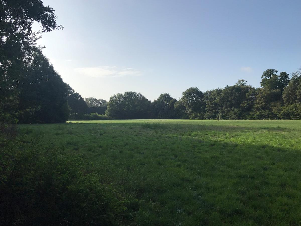 Op de oude voetbalvelden is een woonwijk gepland in Hoog-Keppel.