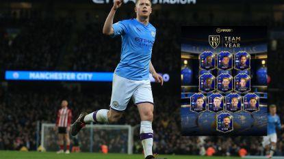EA Sports neemt Kevin De Bruyne opnieuw op in Team van het Jaar in FIFA 20