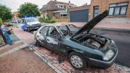 Citroën gaat op in vlammen