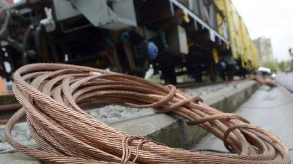 Dieven stelen kilometer aan koperen kabels langs treinspoor
