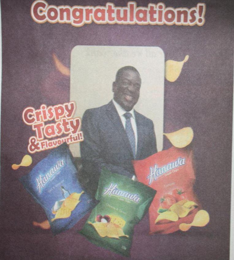 Advertentie in Zimbabwaanse krant Beeld