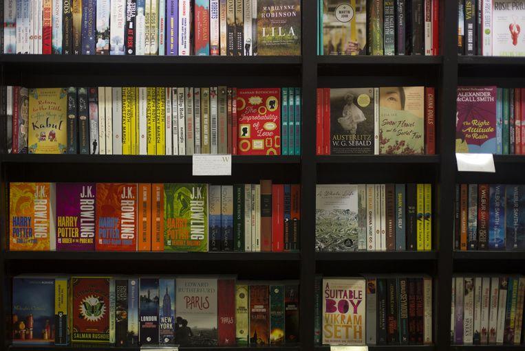 Boeken genoeg, in The American Book Center Beeld Eva Plevier