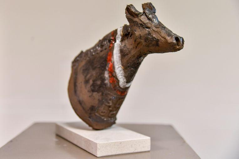 De kleipaardjes zijn geïnspireerd op het Ros Beiaard.