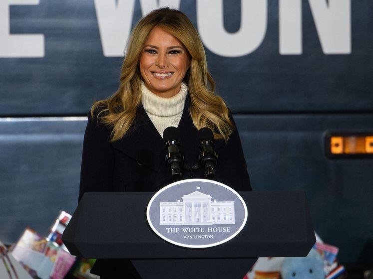 First Lady Trump neemt afscheid: 'Geweld is nooit het antwoord'