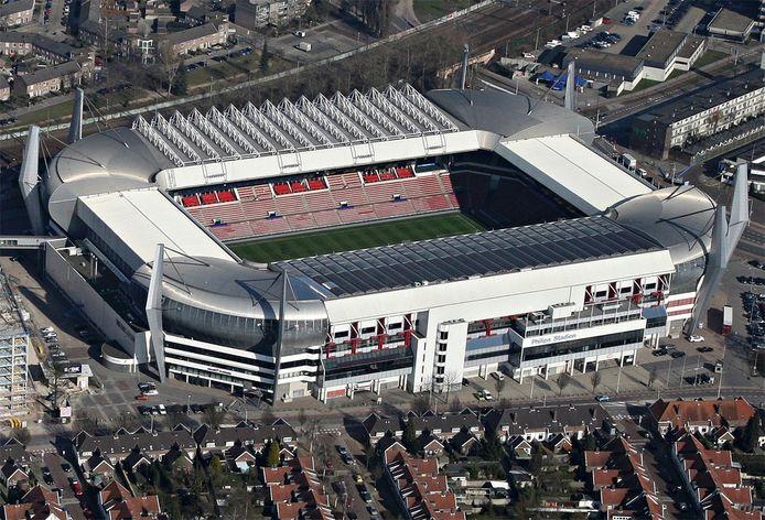 Het Philips Stadion in Eindhoven, 2011.