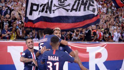 Meunier ziet op bank hoe PSG met 4-0 Toulouse inblikt, maar ook hoe Mbappé en Cavani uitvallen