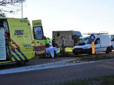 Fietser gewond door aanrijding met busje in Someren