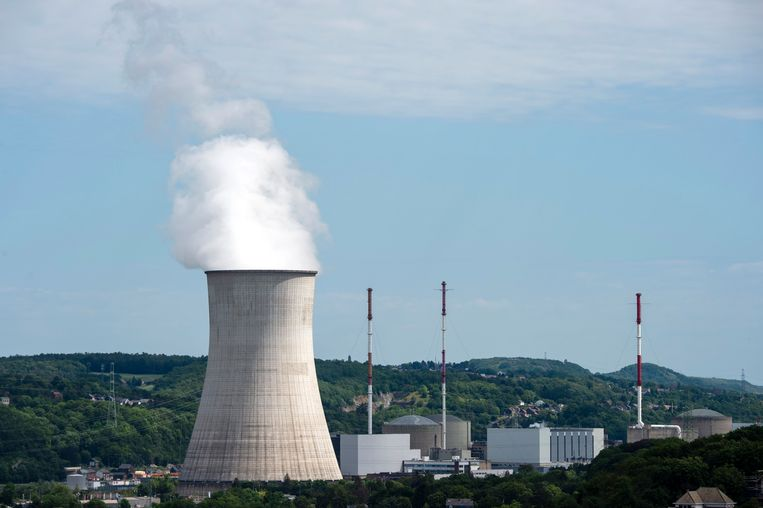 De kerncentrale in Tihange. Archiefbeeld.