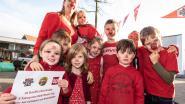 BroeBELschool in Bevere kleurt rood en verkoopt bloembollen voor Rode Neuzendag