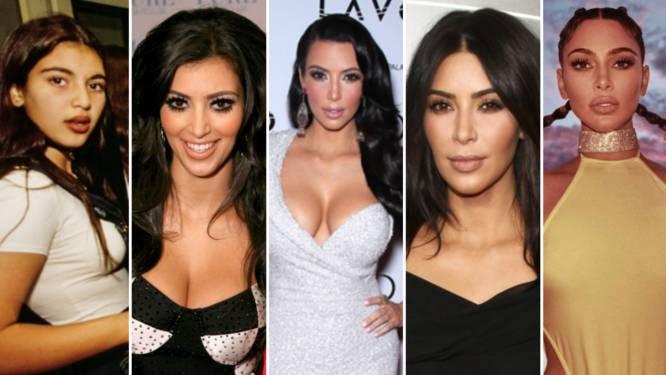 """De vele gezichten van de Kardashians, door de jaren heen: """"Natuurlijke schoonheid of plastische chirurgie?"""""""