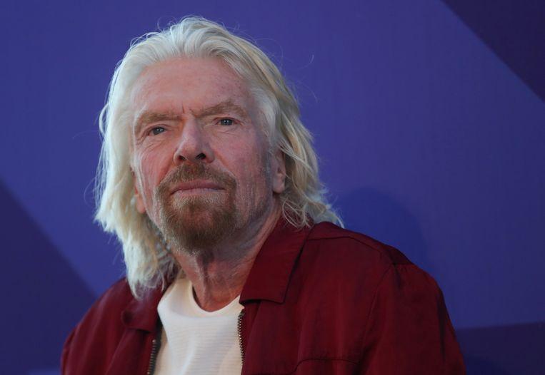 Richard Branson Beeld Reuters
