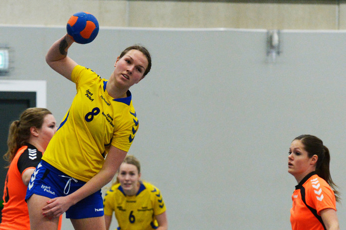 Lenna Duin scoorde vaak voor Hastu.