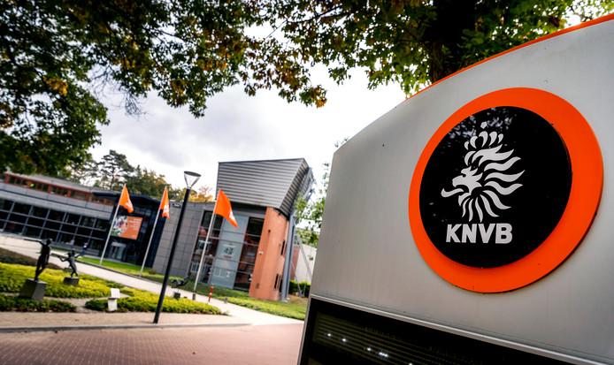 Het bondsbureau van de KNVB Campus in Zeist