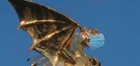 Ook de Bossche Draak draagt een mondkapje (of toch niet?)