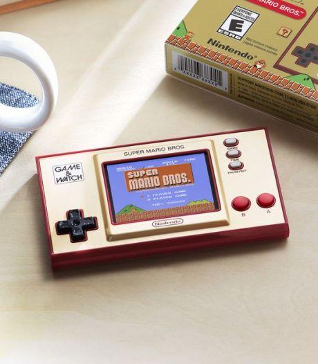 Draagbare Super Mario retrogame is meer een hebbeding dan iets om op te spelen