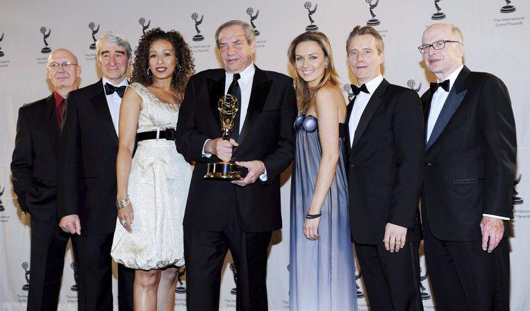 De cast en producer van 'Law & Order'.