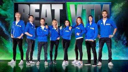 Olga Leyers gaat apneuduiken en Nathalie Meskens cheerleaden: dit zijn de uitdagingen in 'Beat VTM'