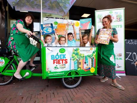Vieze busjes vervangen door bakfietsen: 'Ik fiets nu lachend de file voorbij'