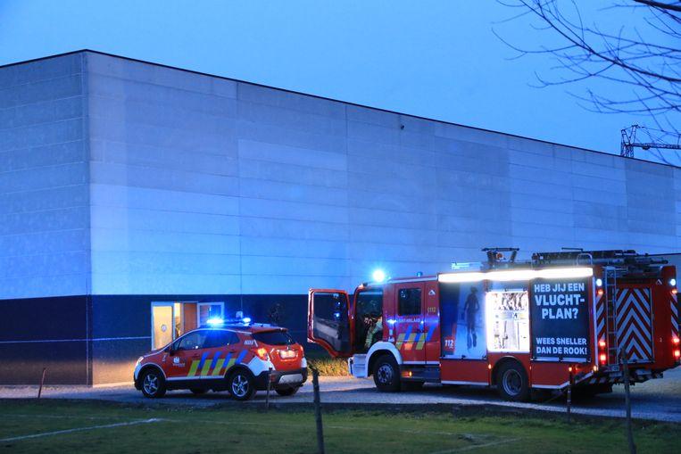 De brandweer moest enkel het gebouw nog ventileren.