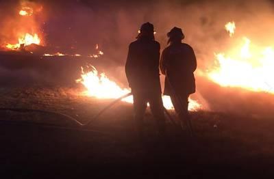 Australiërs op de vlucht voor brand in Victoria