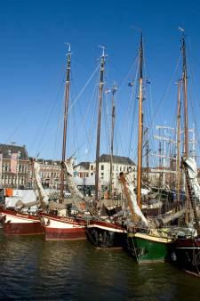 Storing Ketelbrug hindert bruine vloot van Kampen