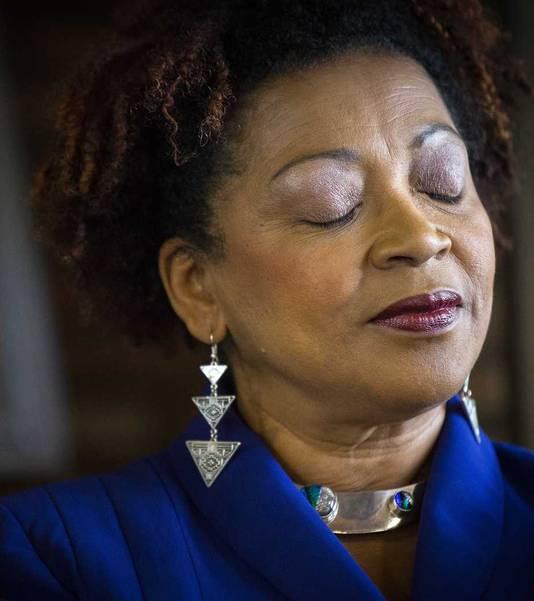 VN-functionaris Verene Shepherd, die zich vorig jaar kritisch uitliet over Zwarte Piet.