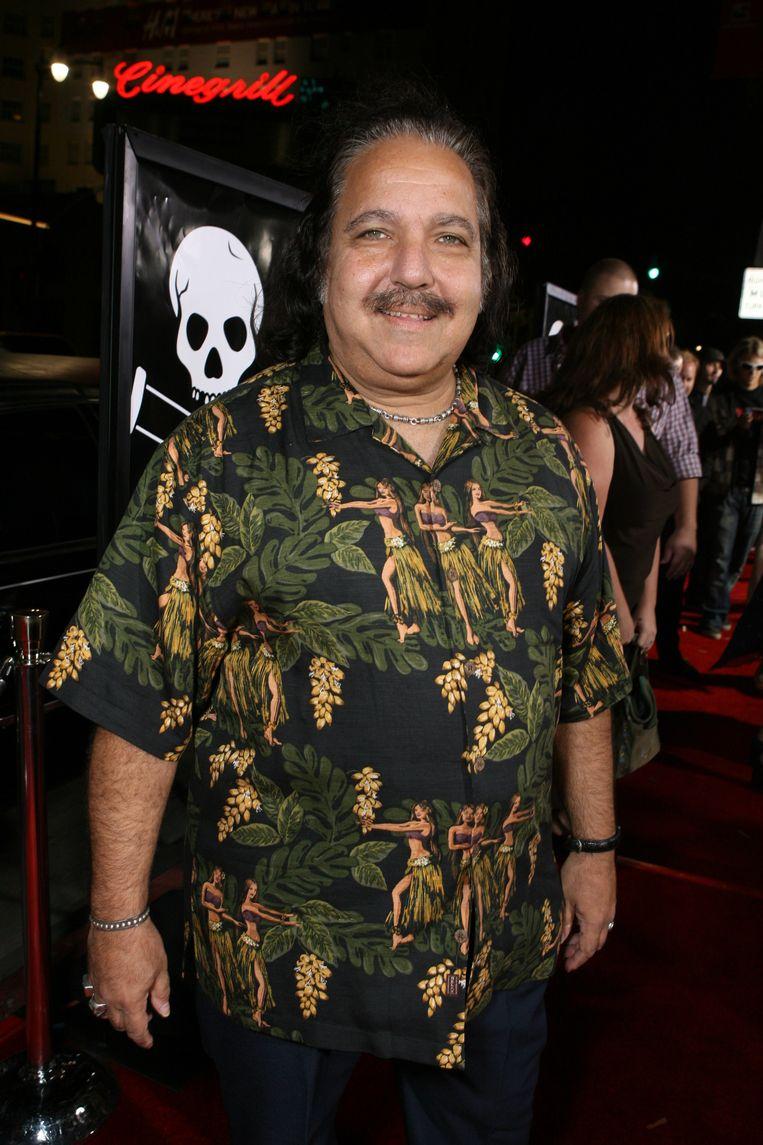 Pornoacteur Ron Jeremy.  Beeld WireImage for Paramount Pictures