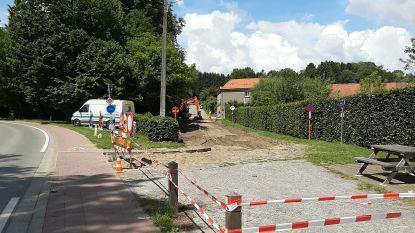 Aanleg nieuwe fietsstraat in de Dreefstraat