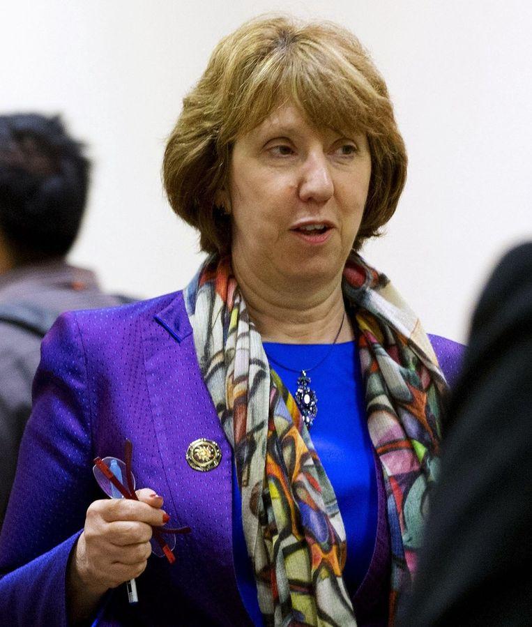 Catherine Ashton Beeld null