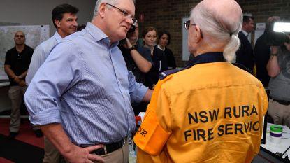 """Australische premier terwijl land in lichterlaaie staat: """"Meer doen tegen klimaatverandering zou roekeloos zijn"""""""