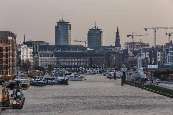 Hasselt heeft veel ingezet op wonen in de buurt van de kanaalkom.