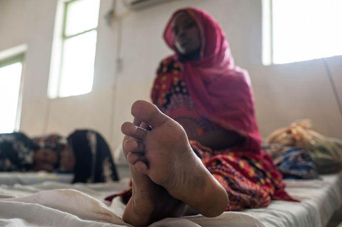 Archiefbeeld: De Ethiopische Mariame Habib werd op haar 17de slachtoffer van genitale verminking.