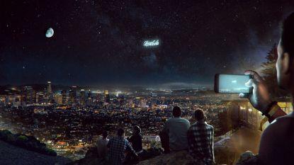 Russische start-up wil reusachtige reclameborden in de ruimte creëren