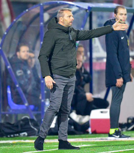NAC-trainer Steijn na 'slechtste wedstrijd van het seizoen': 'Te veel spelers onder hun niveau gespeeld'