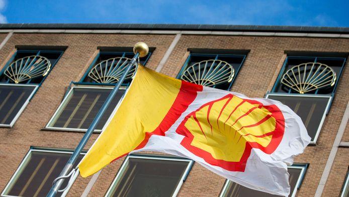 Het hoofdkantoor van Shell
