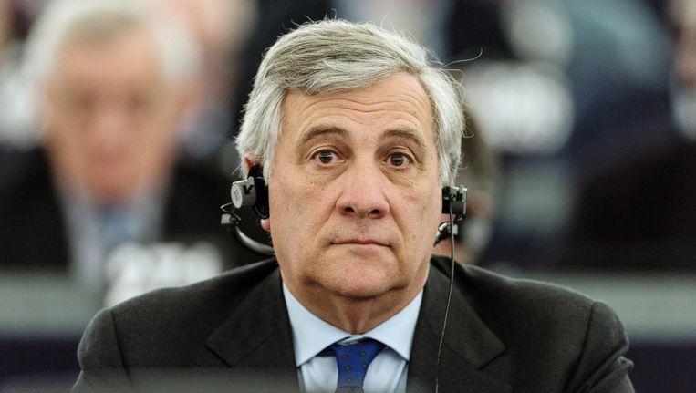 Antonio Tajani van de EPP-fractie Beeld epa