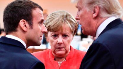 Michel doet mee met Macron, Merkel en Trump