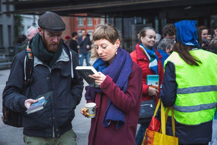 Fervente lezers ruilden hun eigen boek om voor het exemplaar van een andere lezer.