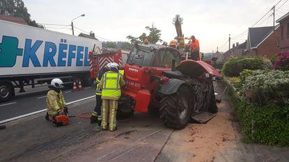 Bestuurder gewond na ongeval met tractor