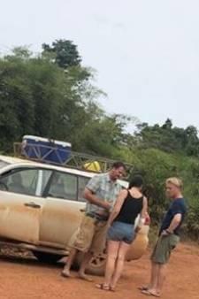 Auto team Art Rooijakkers slaat over de kop in Ivoorkust
