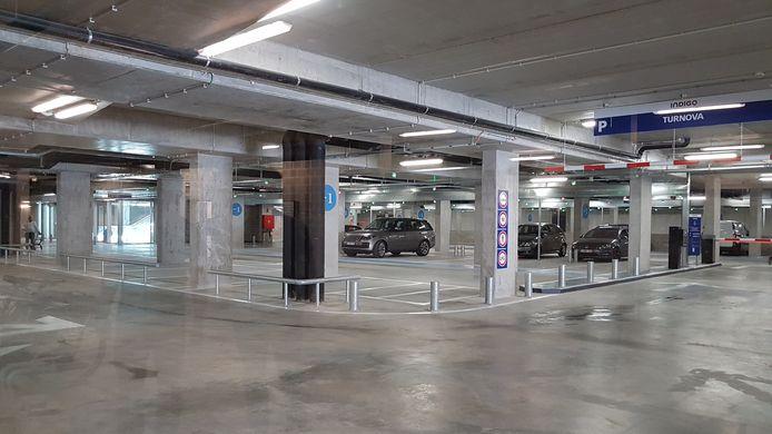 De parking Turnova gaat maandag officieel open.