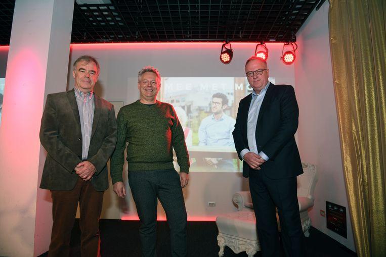 Marc Van De Velde, Erik Meulemans en Luc Cauberg zijn de drijvende krachten bij Liefst Leuven.