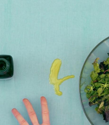 Met deze tip zijn olijfolie vlekken verleden tijd