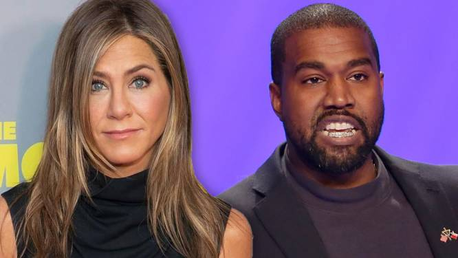 Het moddergooien is begonnen: Kanye West en Jennifer Aniston in de clinch