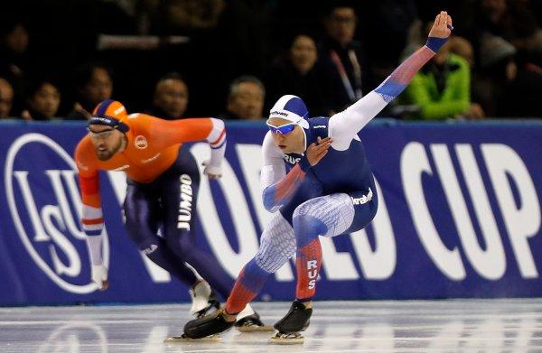 Schaatsers, minder fit door jetlag, leggen het af tegen Russen en Japanners