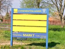 Gebruik van evenementenborden in Voorst wordt goedkoper