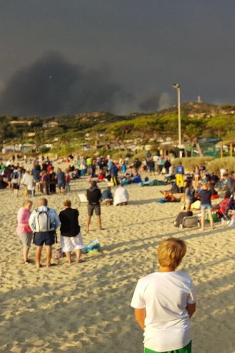 Bosbrand joeg Oostburgse huisarts uit zijn caravan aan de Côte d'Azur