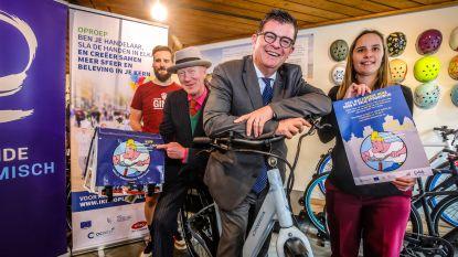 Handelaars Belle Epoquewijk willen lokaal shoppen promoten met fietstassen van Cowboy Henk