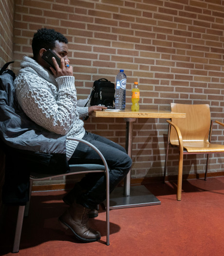 Een kalm avondje in de nachtopvang in Eindhoven